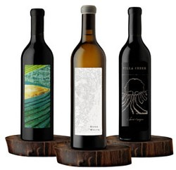 2017 WINTER SHIPMENT (2-Carver Cab, 2-2015 Luna Matta Cuvée, 2-2015 Bone White), Reserve Club $296