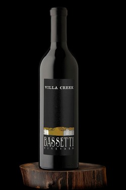 2014 Syrah, Bassetti Vineyard, $75